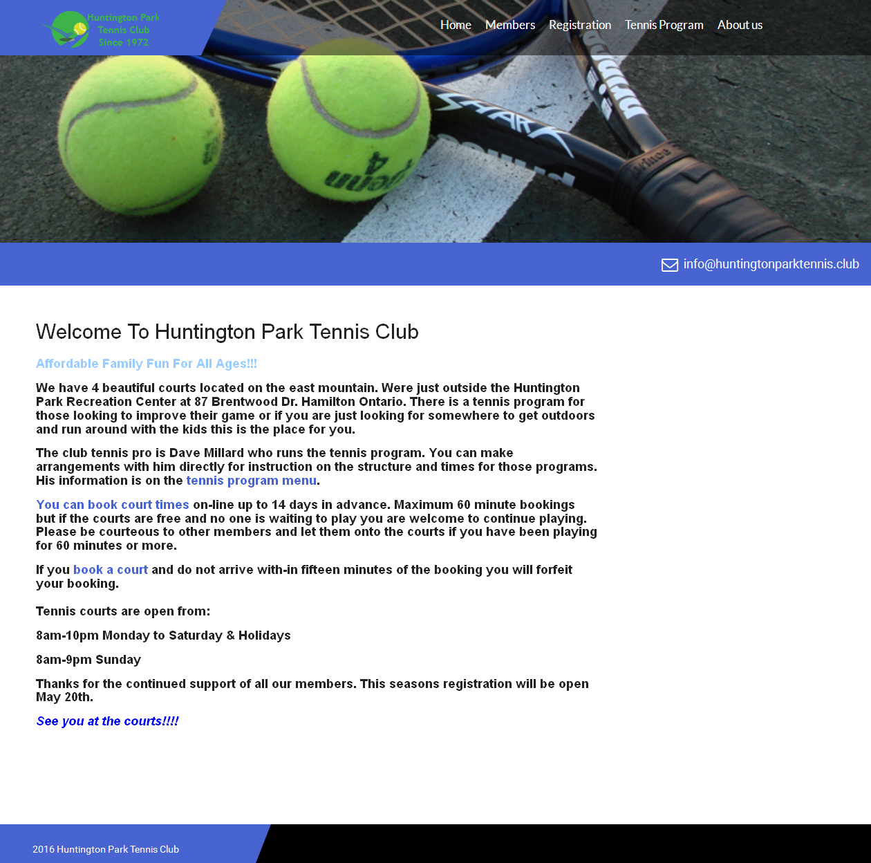 Huntington Park Tennis Club